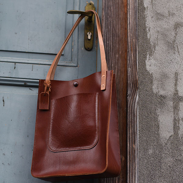 "Ledertasche, Tote Bag ""Berlin"""