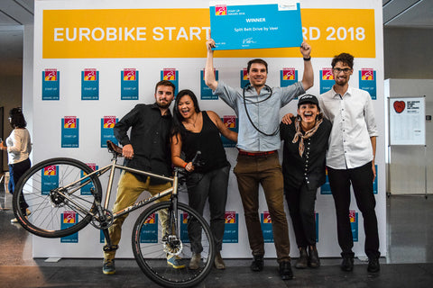 Veer Split Belt Eurobike Start-Up Winner