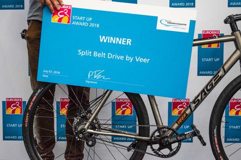 Eurobike Start-Up Winner Veer on Sage Titanium Bicycle