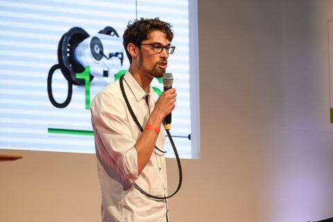 Theron Hawley Veer Eurobike Start-Up Pitch Winner