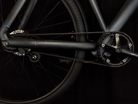 Veer Split Belt Pro belt drive on Vanmoof S3 bike
