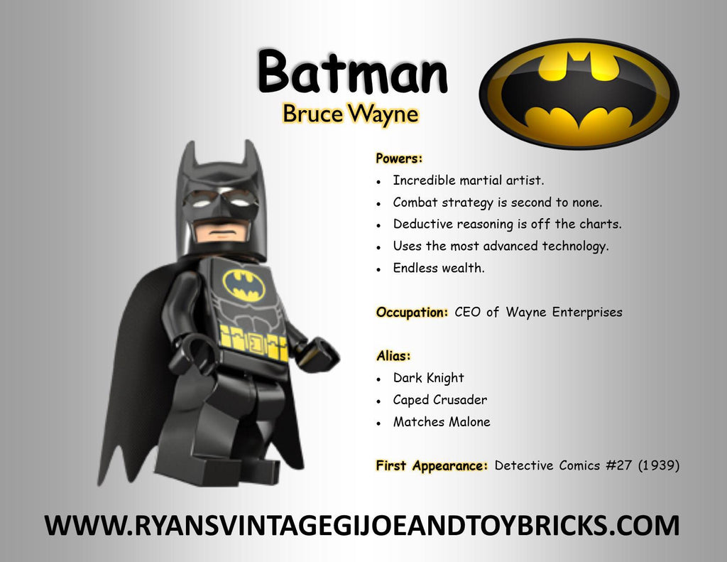 Super Hero Facts: Batman