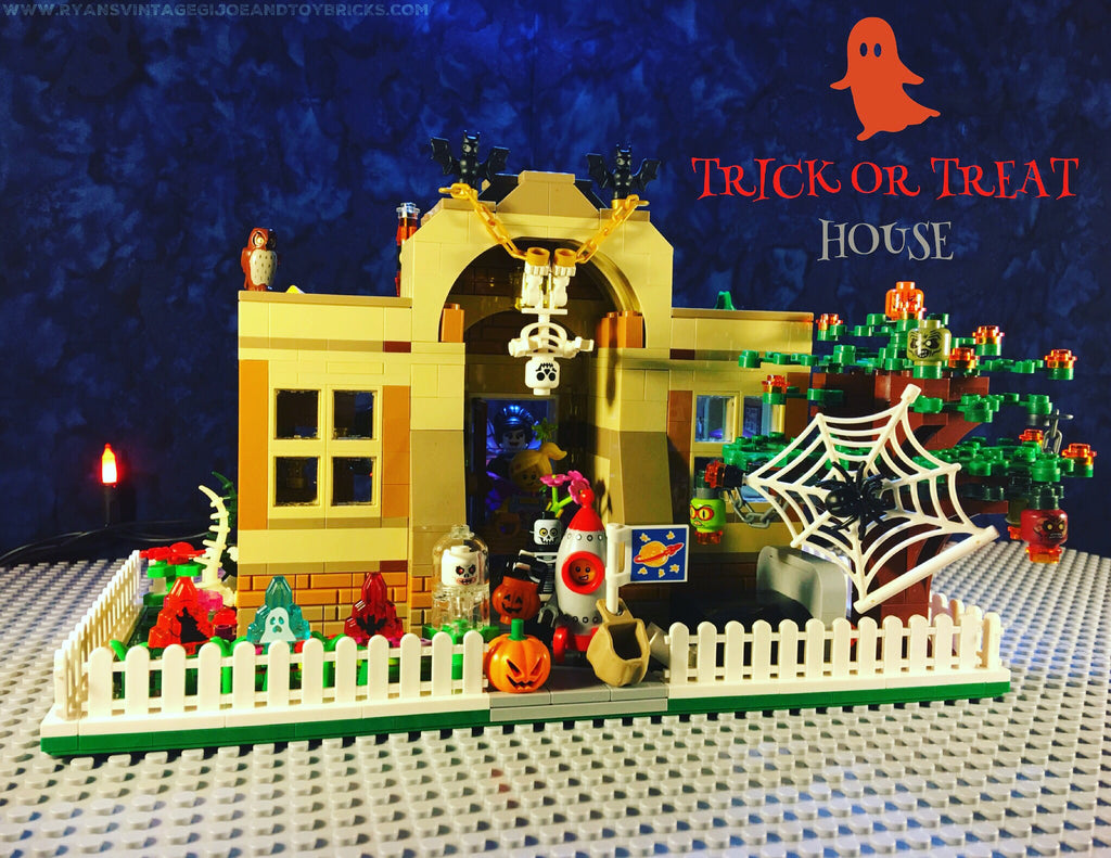 Custom Lego® Halloween Trick Or Treat House MOC