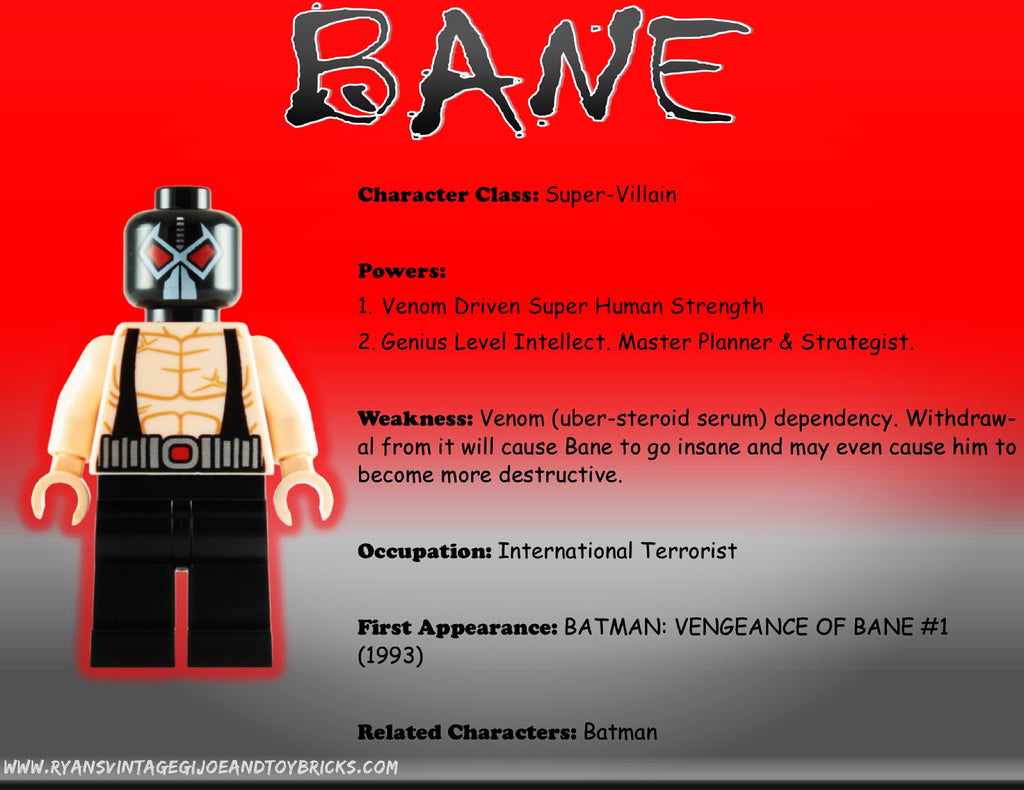 SUPER HERO FACTS: BANE