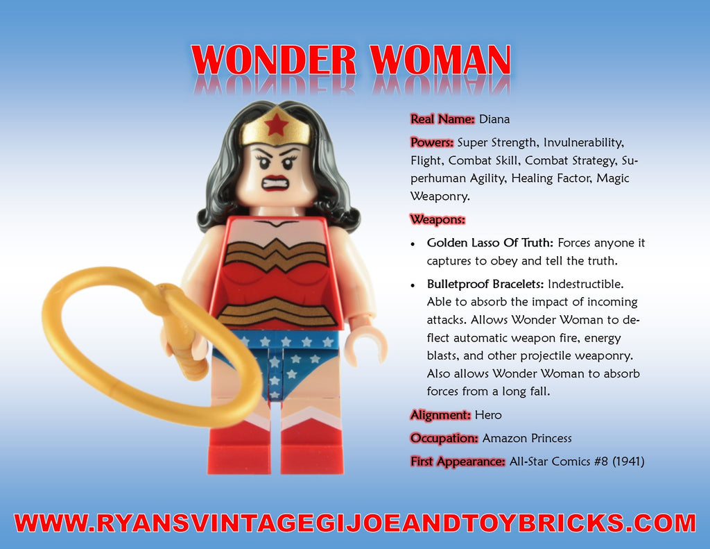 Super Hero Facts: Wonder Woman