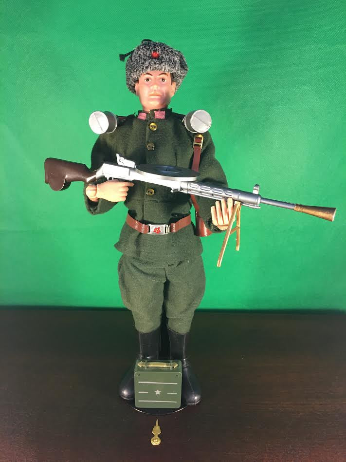 VINTAGE 1966 GI JOE SOLDIERS OF THE WORLD (SOTW) RUSSIAN INFANTRYMAN