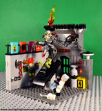LEGO CUSTOM -- DR. FRANKENSTEIN'S LABORATORY SCENE WITH MINIFIGURES MONSTERS MOC