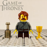 LEGO GAME OF THRONES -- CUSTOM TYRION LANNISTER MINIFIGURE 100% AUTHENTIC PIECES