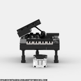 LEGO CITY -- CUSTOM GRAND PIANO : MUSICAL INSTRUMENT AUTHENTIC PARTS & PIECES