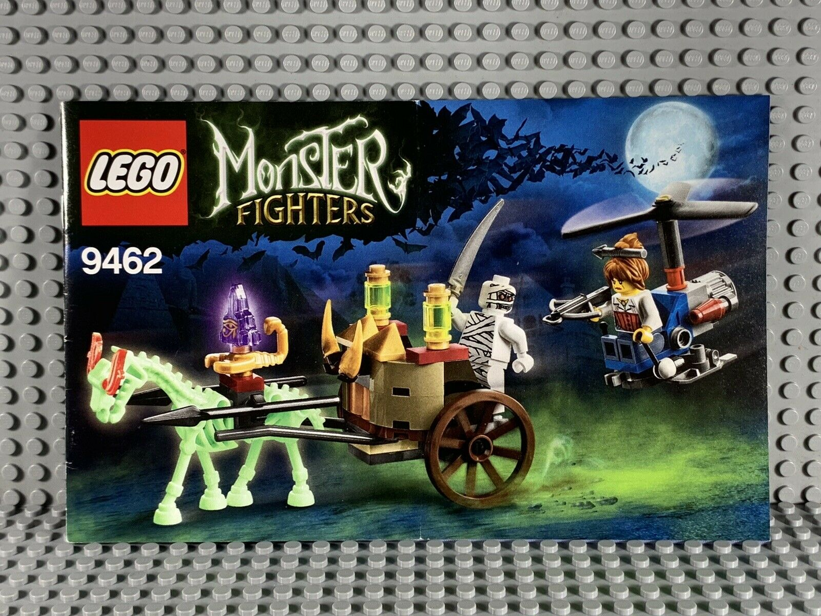 LEGO MONSTER FIGHTERS -- 9462 THE MUMMY : INSTRUCTION MANUAL ONLY