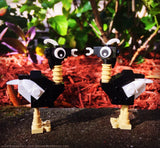 LEGO CITY -- TWO CUSTOM BIRDS / ANIMALS : OSTRICH : AUTHENTIC PARTS & PIECES