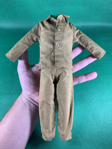 VINTAGE 1964 GI JOE -- 1975 DEFENDERS : POINT MAN UNIFORM : JACKET & PANTS NICE