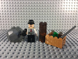 LEGO -- CUSTOM MOC FRANK NITTI PROHIBITION DELIVERY GANGSTER MINIFIGURE SET