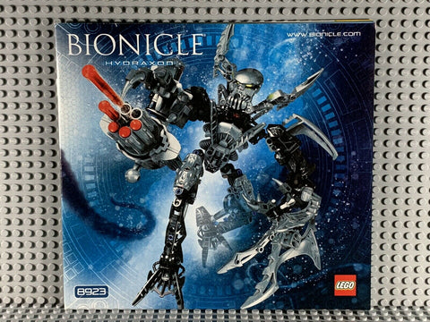 LEGO BIONICLE -- 8923 HYDRAXON WARRIOR : INSTRUCTIONS ONLY