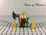 LEGO GAME OF THRONES -- TYRION LANNISTER CUSTOM MINIFIGURE 100% AUTHENTIC PIECES