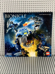 LEGO BIONICLE -- 8922 GADUNKA WARRIOR : INSTRUCTIONS ONLY