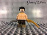 LEGO GAME OF THRONES -- KHAL DROGO CUSTOM MINIFIGURE 100% AUTHENTIC PIECES
