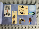 LEGO MONSTER FIGHTERS -- 9463 THE WEREWOLF : INSTRUCTION MANUAL ONLY