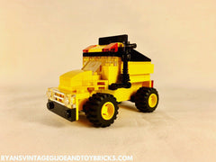 LEGO CITY -- CUSTOM MINI YELLOW DUMP TRUCK VEHICLE MOC + PDF INSTRUCTIONS