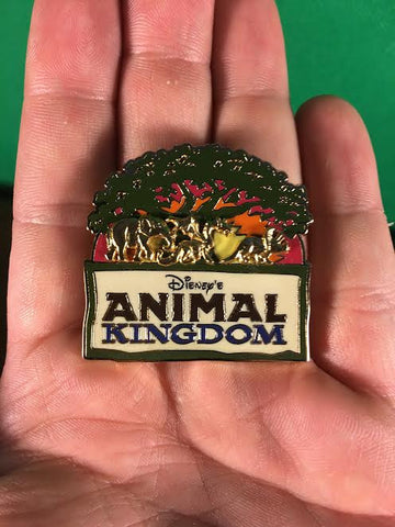WALT DISNEY -- ANIMAL KINGDOM RAISED UNDER THE TREE OF LIFE TRADING PIN 101