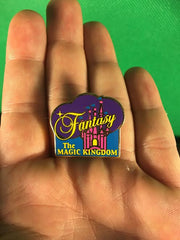 WALT DISNEY -- THE MAGIC KINGDOM FANTASY (CASTLE) TRADING PIN 295