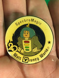 WALT DISNEY -- WALT DISNEY WORLD 20TH ANNIVERSARY SPECTRO MAGIC TRADING PIN 1008