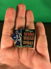 WALT DISNEY -- WALT DISNEY WORLD WIDE WORLD OF SPORTS TRACK AND FIELD PIN 8370