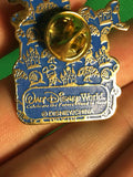 "WALT DISNEY -- DONALD MICKEY GOOFY CELEBRATING THE FUTURE HAND IN HAND YEAR 2000 ""BRIAN"" TRADING PIN 869"