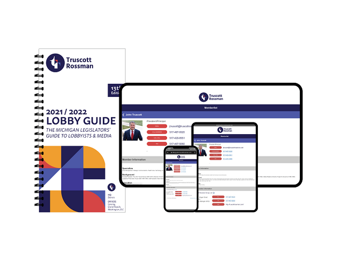 2021-2022 Electronic AND Printed Copy of Lobby Guide