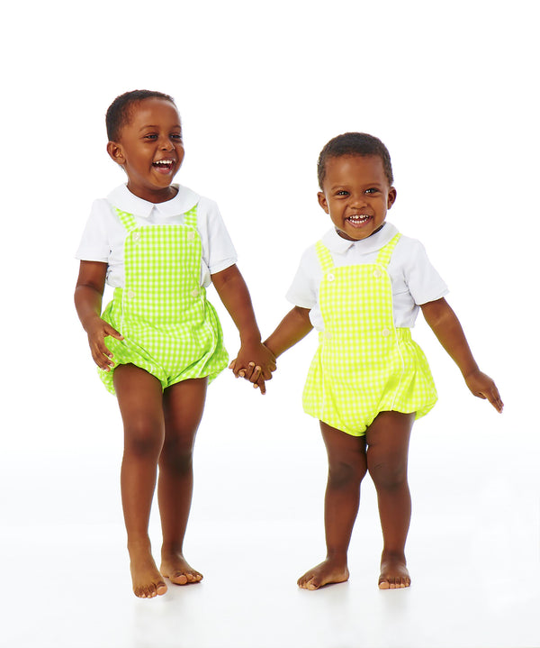 Patrick Two-Piece Overall Bubble Set