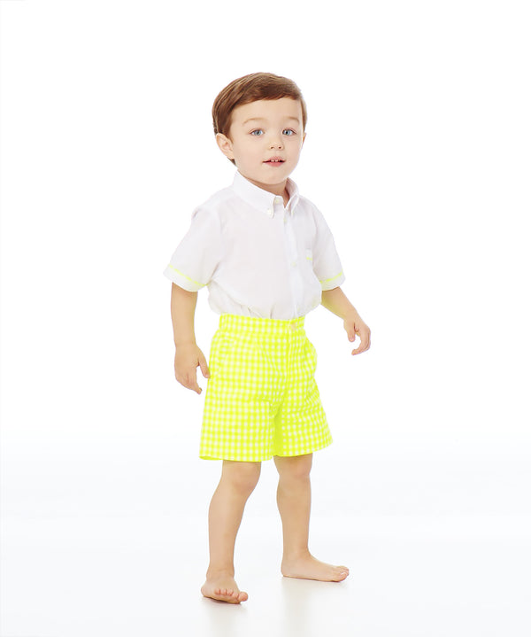 Tommy Two-Piece Shirt and Shorts Set