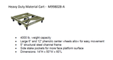Heavy Duty Material Cart - M998028A