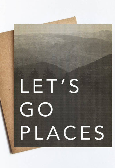 LIVE LOVE STUDI GO-PLACES GO PLACES CARD - GO-PLACES-LIVE LOVE STUDI