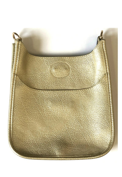 Ahdorned - Mini Messenger Bag Gold (sold without strap)