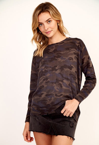 Kixters - Camo Long Sleeve Top