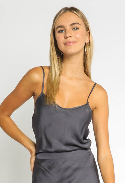 Kixters - Adjustable Thin Strap Top Oreo