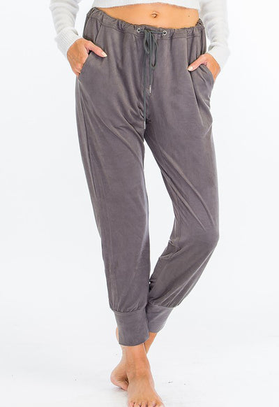 Kixters - Grey Drawstring Lounging Pants