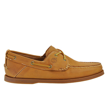Timberland 2-Eye- Wheat Boat Shoe