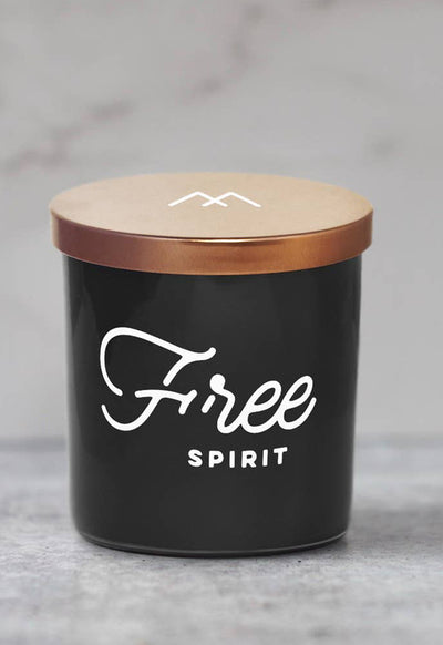 Free Spirit Soy Candle by Monterra Candles - Black Copper