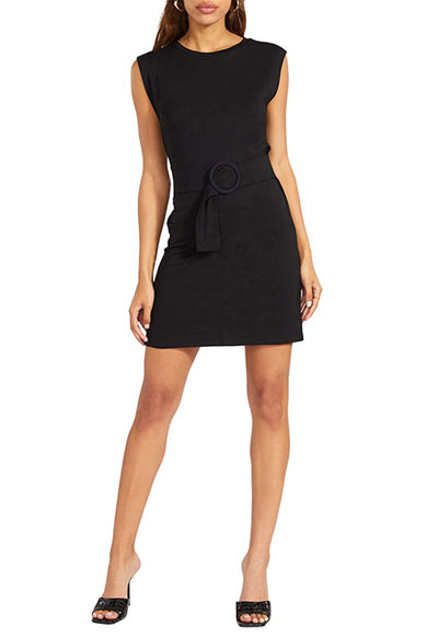 BB Dakota - Buckle Up Dress Black