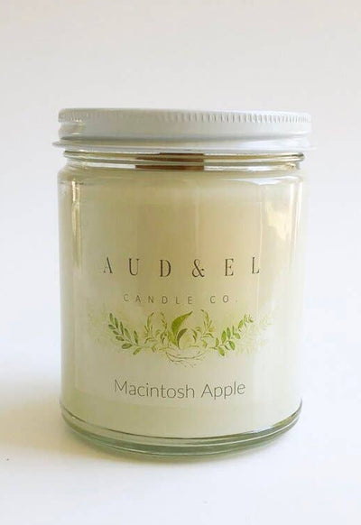 Aud & El - Macintosh Apple Candle