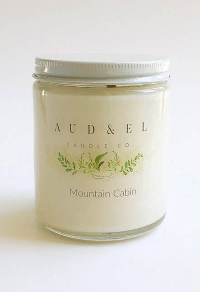 Aud & El - Mountain Cabin Candle Fall 2020