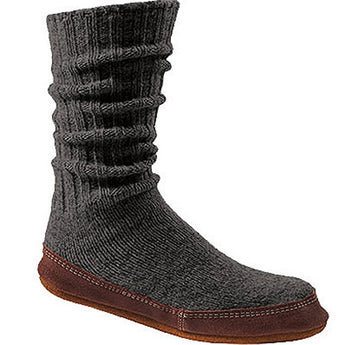 Acorn Original Slipper Sock - Charcoal Ragwool