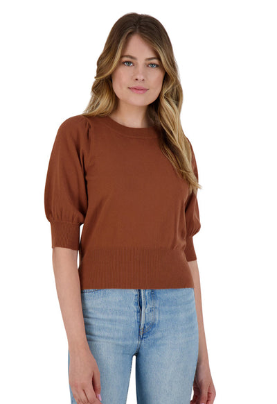 BB Dakota - Girl Next Door Camel Sweater