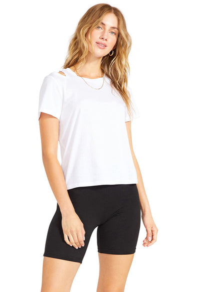 BB Dakota - Cut To The Chase Top White