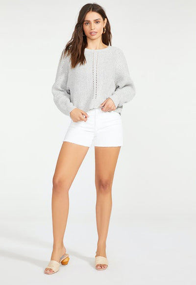 BB Dakota - Dreamboat Annie Sweater Heather Grey