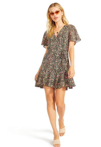 BB Dakota - Counting Petals Dress Black