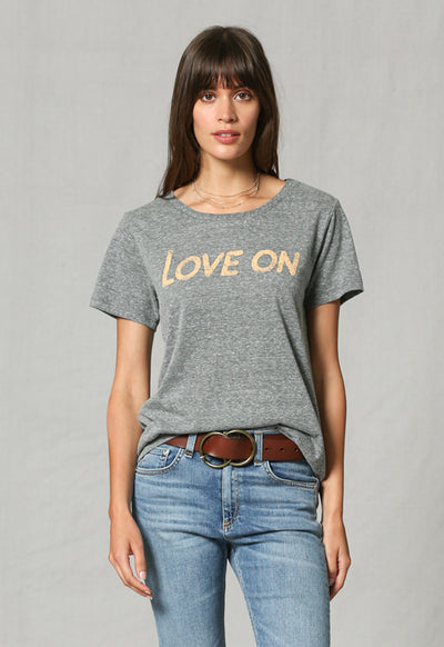 By Together - Heather Grey Love On Tee