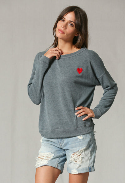 By Together - Charcoal Long Sleeve Shirt