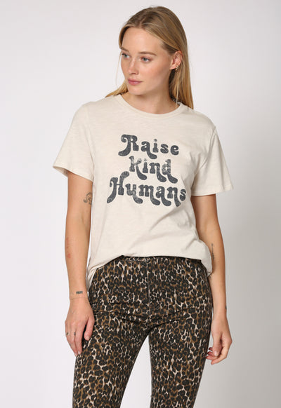 Kixters - Raise Kind Humans Clay Graphic Tee Shirt